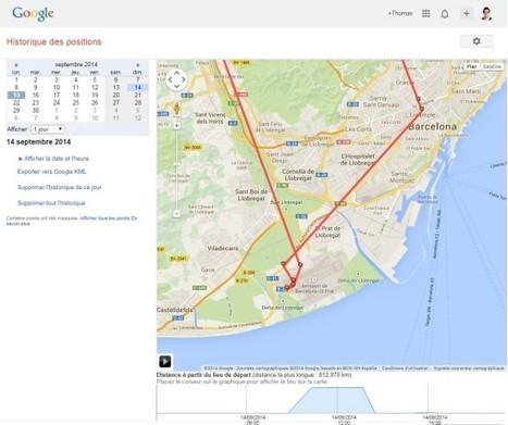 Comment supprimer son historique de géolocalisation sur Google ? | Le Club des Elus Numériques | Améliorer son image sur le web | Scoop.it