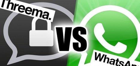 Nuova alternativa a Whatsapp: Threema assicura la privacy anche agli iPhone 5S, 5 e 4S | Sms gratis | Scoop.it