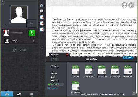 Liveminutes, mejora la colaboración online integrado con Evernote y Dropbox | Recull diari | Scoop.it
