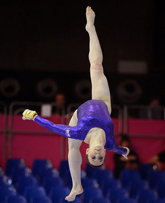 Artistic gymnastics championships - in pictures | Art, photography, design, tech, culture & fashion | Scoop.it