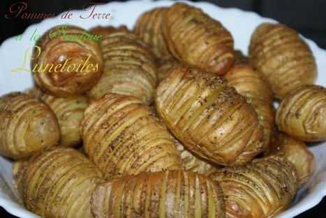 recette hasselback potatoes, pommes de terre rôtie a la suédoise | Cuisine Algerienne, cuisine marocaine, cuisine tunisienne, cuisine indienne | Scoop.it