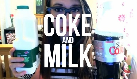 First ever Coke And Milk video | Youtube, news and music (Media) | Scoop.it