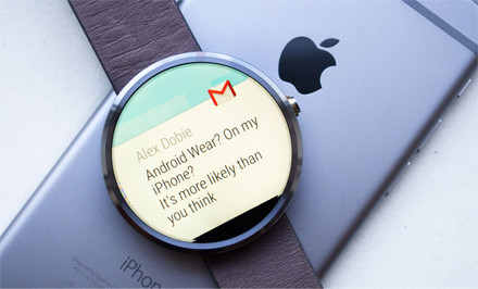 Android Wear smartwatches come to the iPhone | UX-UI-Wearable-Tech for Enhanced Human | Scoop.it