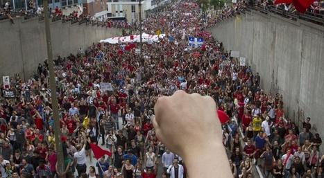 Moi, Français, expatrié au Québec et manifestant | Slate | Du bout du monde au coin de la rue | Scoop.it