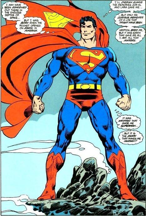 What Makes Superman A Hero | IB lang lit | Scoop.it