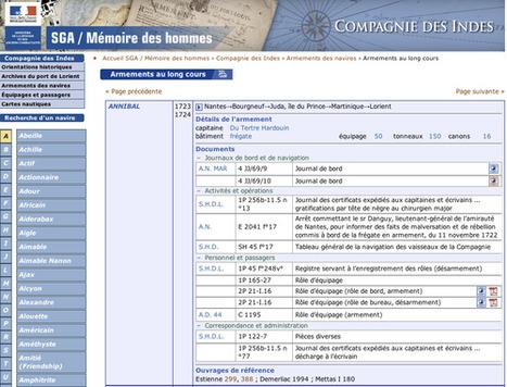 GénéInfos: Mémoire des Hommes s'enrichit de 111.000 noms de la Compagnie des Indes | GenealoNet | Scoop.it