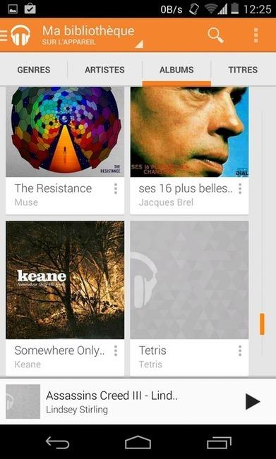 Quel lecteur de musique choisir sur Android ? - FrAndroid | Un Android peut être humain | Scoop.it