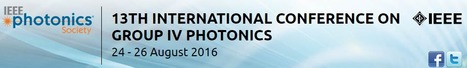 IEEE International Conference on Group IV Photonics (GFP); August 24th - 26th in Shanghai China | Space Conference News | Scoop.it