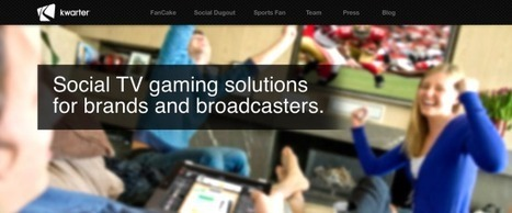 [Social TV] Kwarter, la start-up de Carlos Diaz, lève 4 millions de dollars |FrenchWeb.fr | second screen | Scoop.it