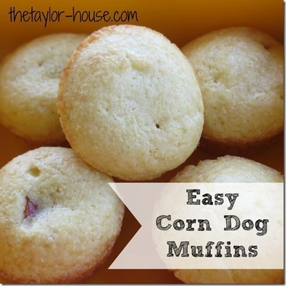 Easy Mini Corn Dog Muffins | Yums | Scoop.it