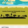 Orange County Garden Ponds And Waterfalls Design
