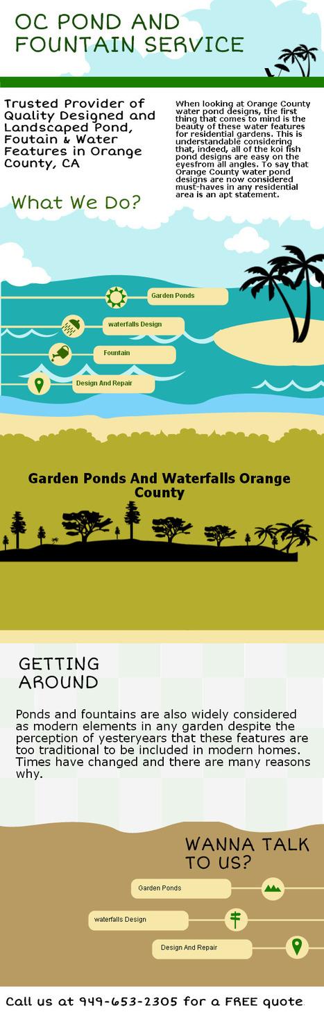 Orange County Garden Ponds And Waterfalls Design | Orange County Garden Ponds And Waterfalls Design | Scoop.it