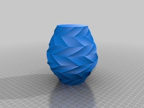 Zigzag Vase by BenitoSanduchi - Thingiverse | product design | Scoop.it