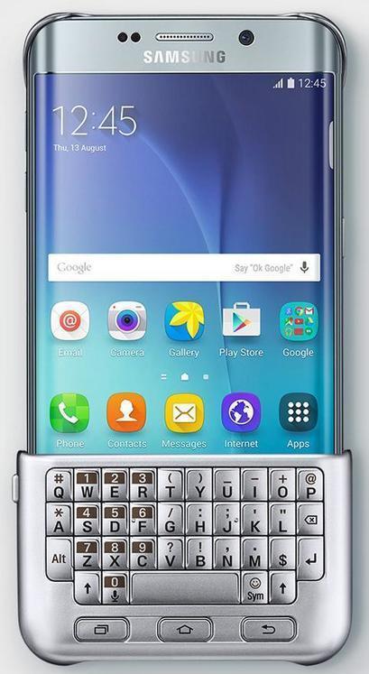 Samsung crée un clavier physique pour le Galaxy S6 Edge :   Tuitec   Scoop.it