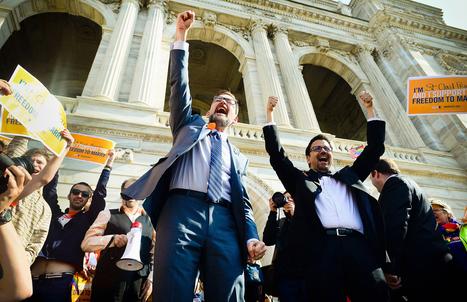 Minnesota Senate passes same-sex marriage bill | Gov't n Law | Scoop.it
