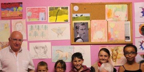 Le Pinceau magique élargit sa palette et dessine « d'après nature » - Sud Ouest | Revue de Presse et Web Port-Sainte-Foy-et-Ponchapt | Scoop.it