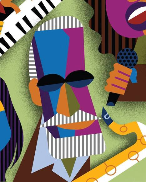 David Cowles Illustrations: Sonny Rollins | Jazz Plus | Scoop.it