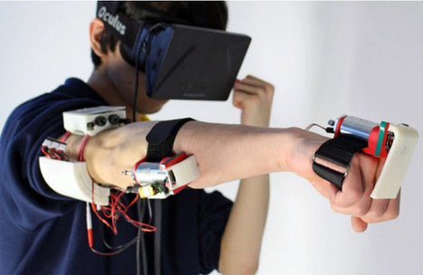 Soon you will be able to punch someone in Virtual Reality and they will feel it   Low Power Heads Up Display   Scoop.it
