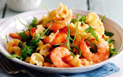Slimming World's pasta with prawns, chilli and tomatoes | Slimming World recipes | Scoop.it