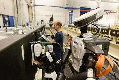 Airbus introduit des robots humanoïdes dans ses usines | Une nouvelle civilisation de Robots | Scoop.it