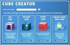 Cube Creator - Para crear pequeñas historias dentro de un cubo | TIC a l'escola | Scoop.it