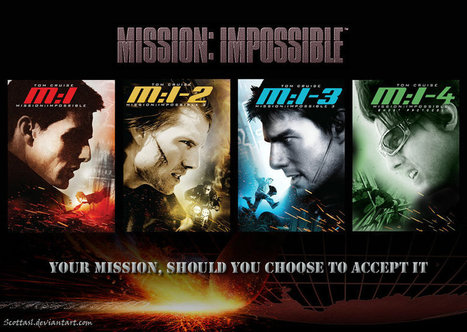 Mission Impossible Collection (1996 - 2011) | Watch Free Online | online movies | Scoop.it