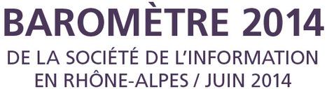 Numérique en Rhône-Alpes : les données du baromètre 2014 en libre accès | Open Data France | Scoop.it