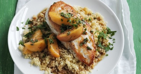 chicken with peaches and ginger | Ideas para inspirarte | Scoop.it