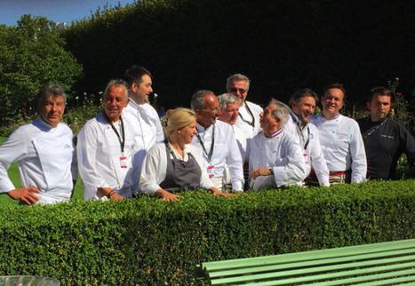 Hier les grands chefs cuisinaient les canards au Palais Royal… le tout en image | MILLESIMES 62 : blog de Sandrine et Stéphane SAVORGNAN | Scoop.it