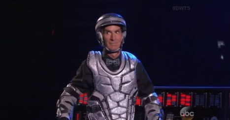 Watch Bill Nye Do a Robot Dance on 'Dancing With the Stars' | Sensational Dancing | Scoop.it