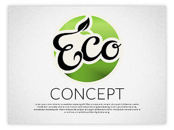 Ecology Presentation Template | PowerPoint Diagrams, Charts, and Shapes | Scoop.it
