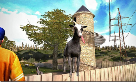 Goat simulator to hit iOS and Android devices | Tech Buzz | Scoop.it