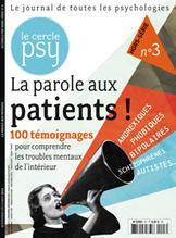 La parole aux patients ! | Le Cercle Psy | Scoop.it