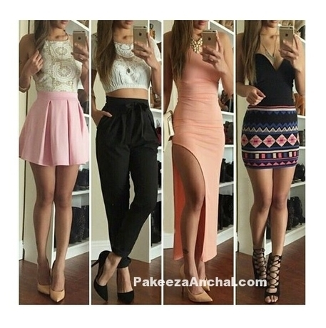 Girly Outfits for Party Wear. Trendy Party Wear Dresses 2016-17 | Indian Fashion Updates | Scoop.it