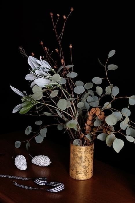 How to: DIY Faux Mercury Glass Vases | Récup Création | Scoop.it