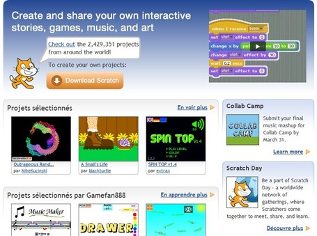 Scratch | imagine, program, share | Integrating Technology in the Classroom | Scoop.it
