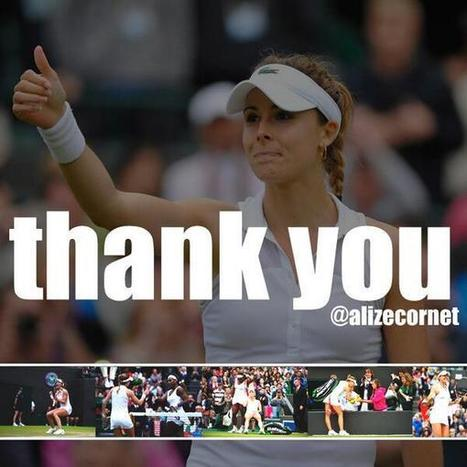 Tweet from @alizecornet | Tennis , actualites et buzz avec fasto-sport.com | Scoop.it