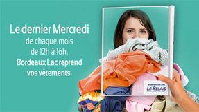 Bordeaux Lac reprend vos vêtements ! - Centre commercial Auchan BORDEAUX LAC   Bordeaux   Scoop.it