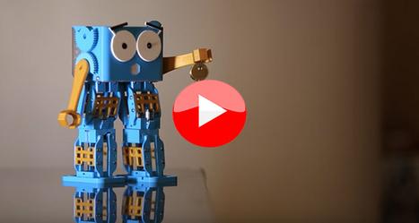 Top 5 des vidéos de la semaine : L'impression 3D pour la fabrication en série, Marty le robot imprimé en 3D... - 3Dnatives | qrcodes et R.A. | Scoop.it