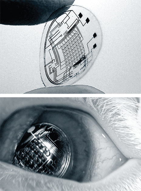 Augmented Reality in a Contact Lens - IEEE Spectrum | QoL Technology | Scoop.it