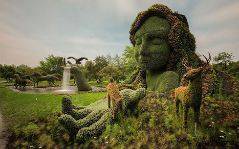 Stunning Plant Sculptures in the Montreal Mosaiculture Exhibition | green | Scoop.it