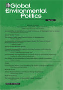 Global Environmental Politics - Volume 16, Issue 2, 2016 - Special section : Accountability in Global Environmental Governance | Parution de revues | Scoop.it