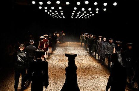 Alexander McQueen's McQ show - in pictures   Moda actual   Scoop.it
