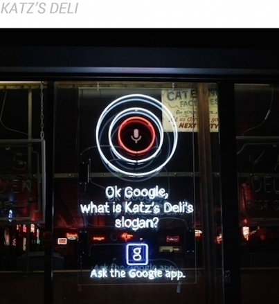Google Pops Up All Over NYC with New Site-Specific Ad Campaign | MarketingHits | Scoop.it
