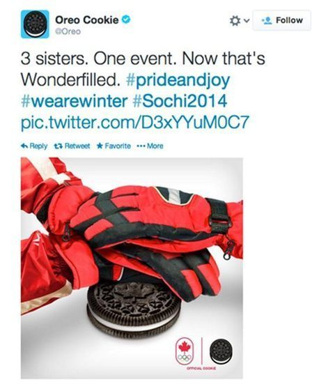 Oreo plays off Olympic news with real-time strategy | Marketing Magazine | Marketing in Motion | Scoop.it