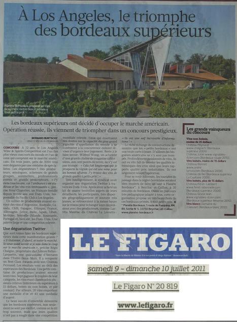 Château Peynaud Bordeaux supérieur 2009 Best of Class à Los Angeles | Nombrilisme | Scoop.it