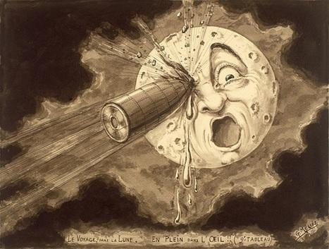 Viagem à Lua - Georges Méliès - Algumas imagens | Arte & design | Scoop.it