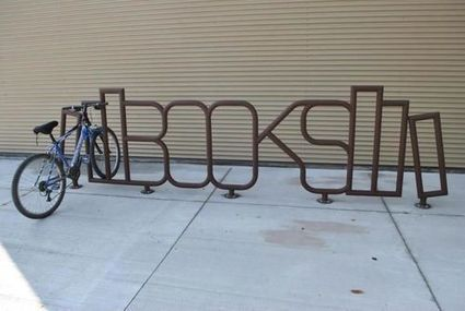 Take the Lane: A bookish bike rack | Library design and architecture | Scoop.it