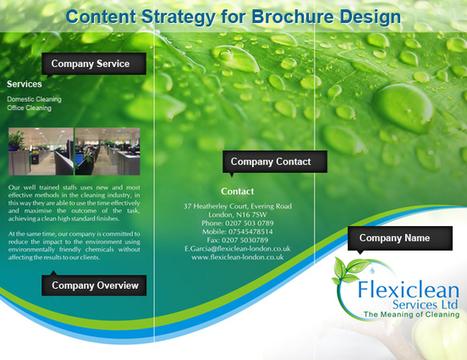 Content Strategy for Brochure Design   Brochure Design   Scoop.it