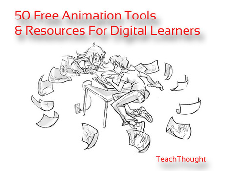 50 Free Animation Tools And Resources For Digital Learners | tice | Scoop.it